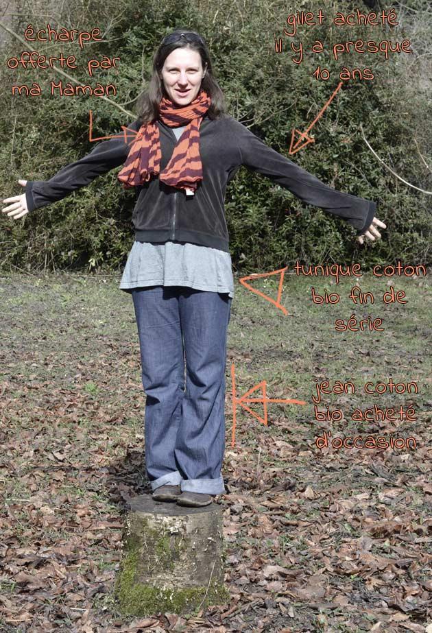 Acheter ses vêtements biologiques et d'occasion : très très écologique !