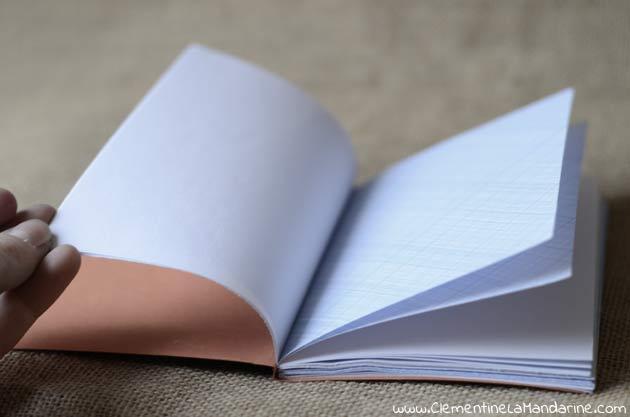 Fabrique un carnet entièrement recyclé, tutoriel complet