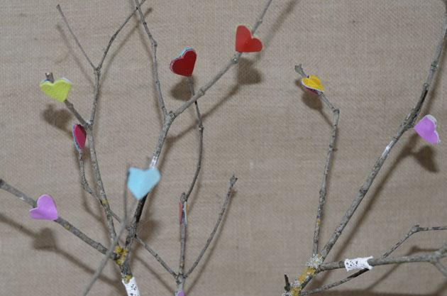 Tutoriel décoration nature et colorées en branches et cuir