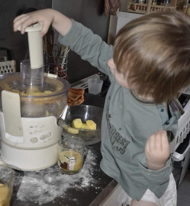 Cuisine sereinement avec tes enfants