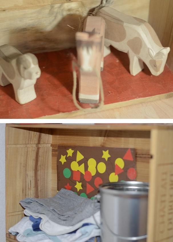 Tutoriel fabrication d'étagères faciles en caisse de vin réutilisées