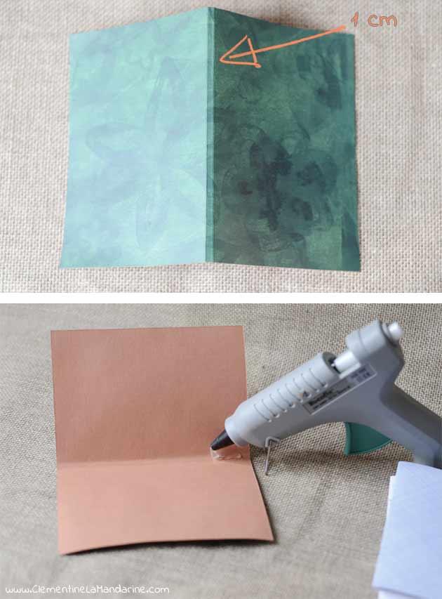 Fabrique un carnet entièrement recyclé, DIY complet