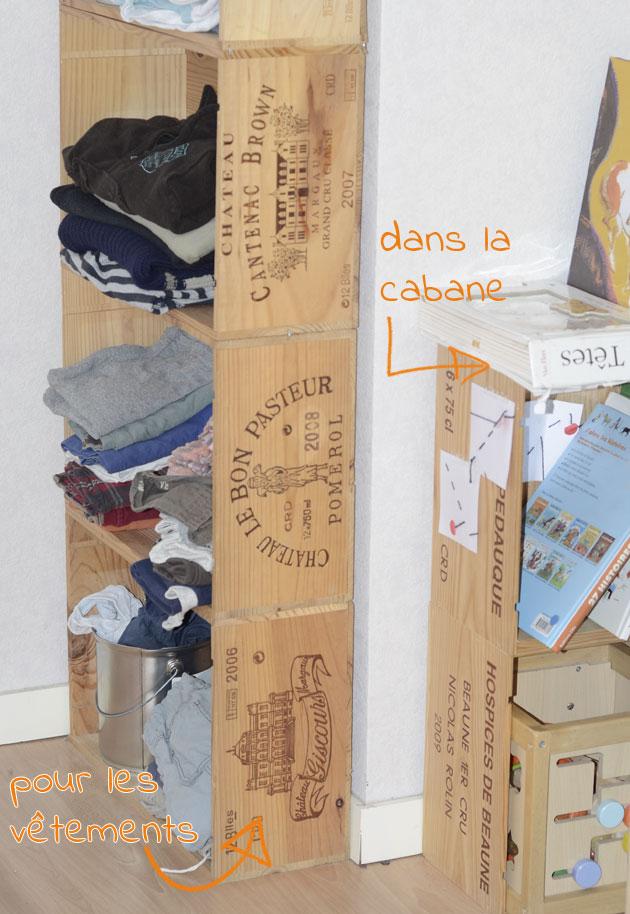 Tutoriels étagères en caisse de vin, DIY facile et écologique