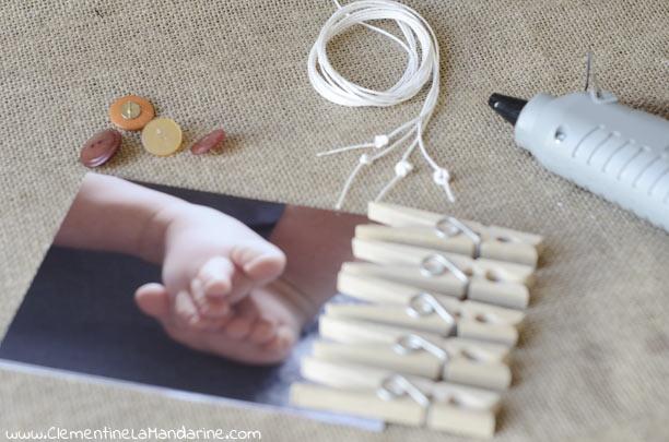 DIY affiche tes photos au mur avec de la récup'