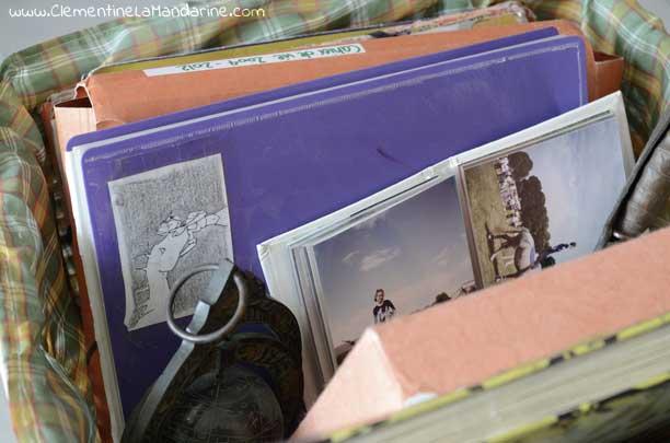 Paniers à souvenirs pour ranger les trésors à conserver