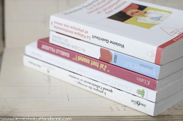 5 livres sur l'éducation douce et l'écoute