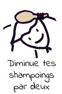 Diminue ta fréquence de shampoing pour des cheveux plus sains