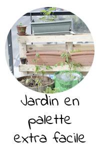 Jardin vertical en palette extra facile