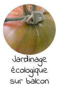 Jardinage écologique sur un balcon