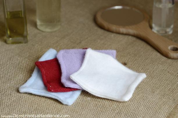 Cotons à visage lavables : écologiques, zéro déchet