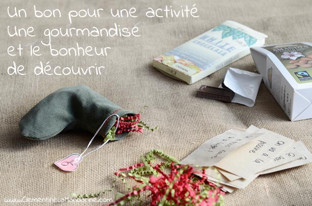 diy calendrier de l avent en chaussettes cousues. Black Bedroom Furniture Sets. Home Design Ideas