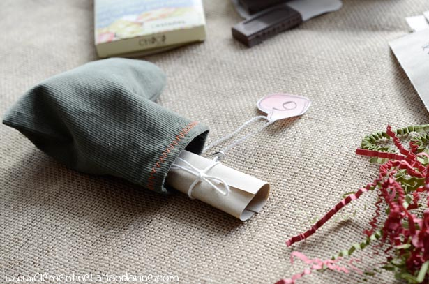 DIY calendrier en chaussettes à coudre