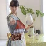 Tablier coloré et écologique, tutoriel de couture