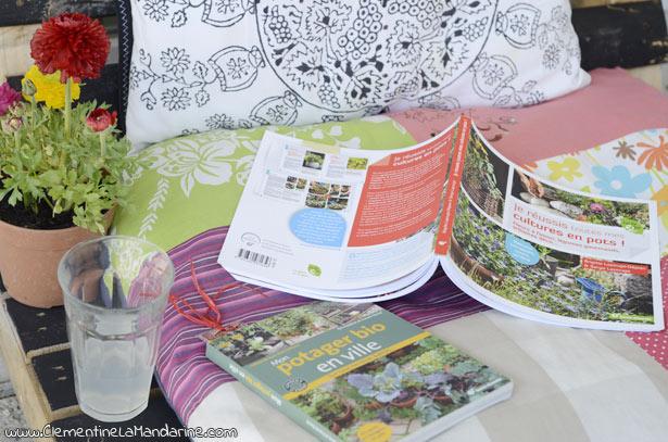 Deux Livres Sur Le Jardinage En Ville Clementine La Mandarine