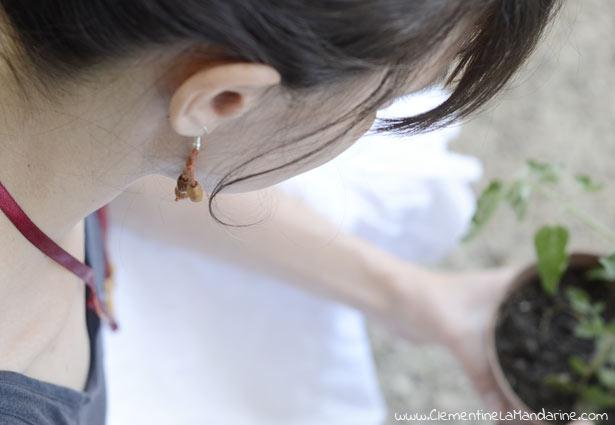 [DIY] Parure boucles d'oreille et collier