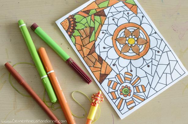 coloriage-dessiné-à-la-main-clementine-la-mandarine
