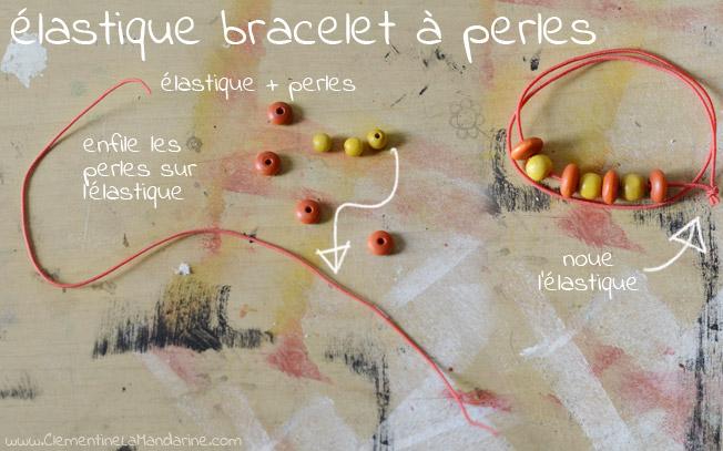 elastique-bracelet-à-perles-clementine-la-mandarine