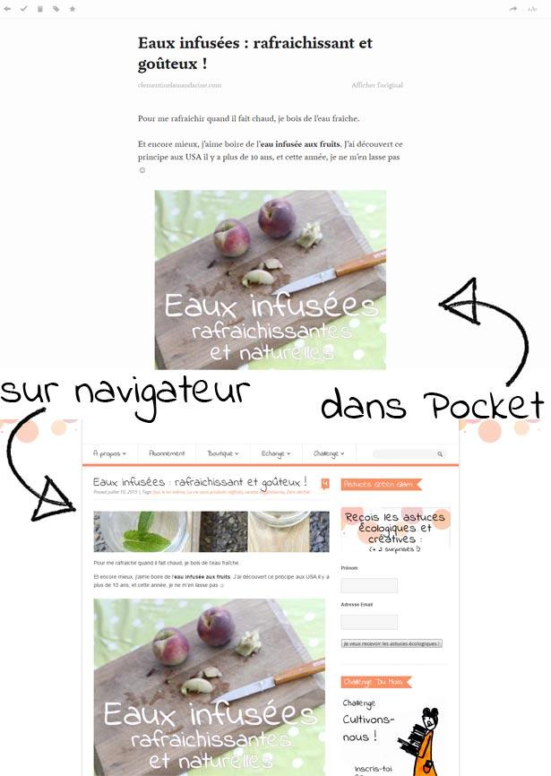 Pocket, pour lire efficacement sur Internet