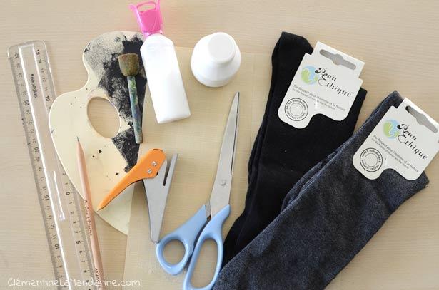 [DIY] Chaussettes hautes à pois