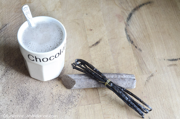 Cocoa tea ou le chocolat chaud préparé comme un thé