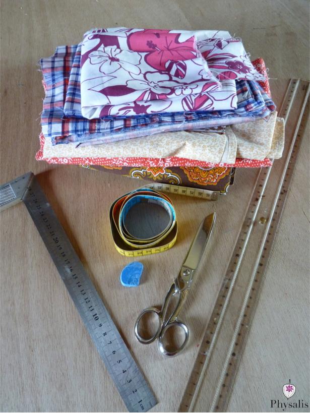 1matériel serviette
