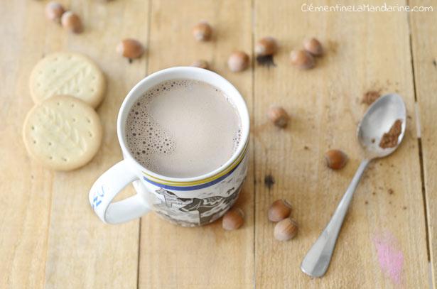 Chocolat chaud express et végane