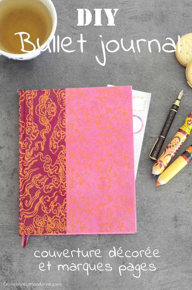 [DIY] Transformer un cahier en joli bullet journal