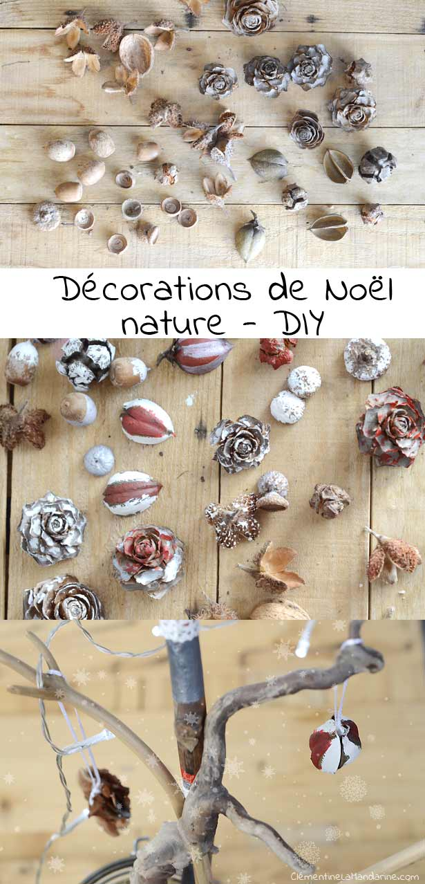 Deco noel nature diy