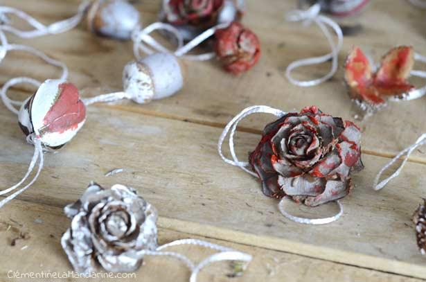 DIY décoration de Noël nature