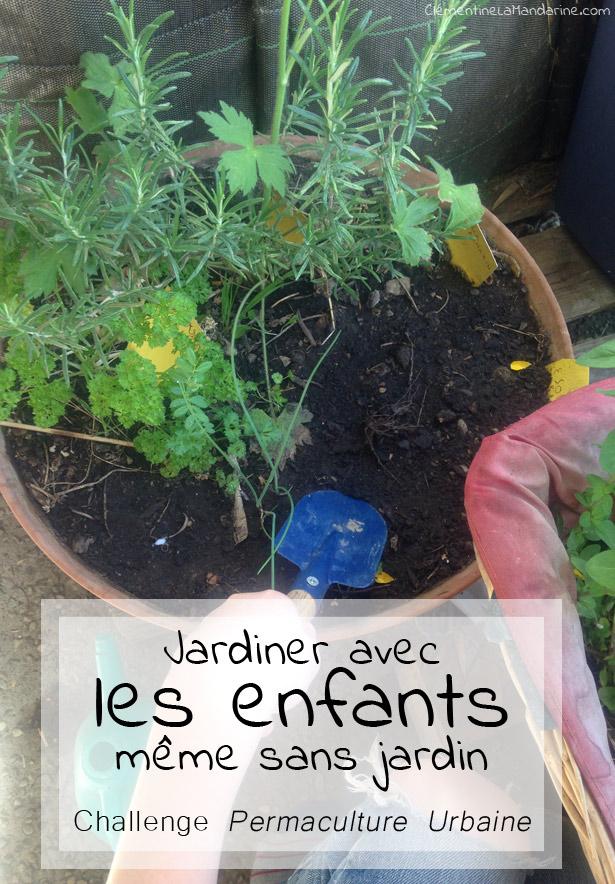Jardiner avec les enfants : comment créer un jardin de poche