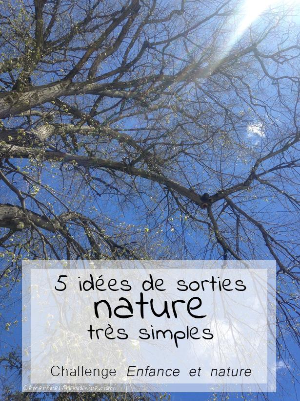 5 idées de sorties nature super simples