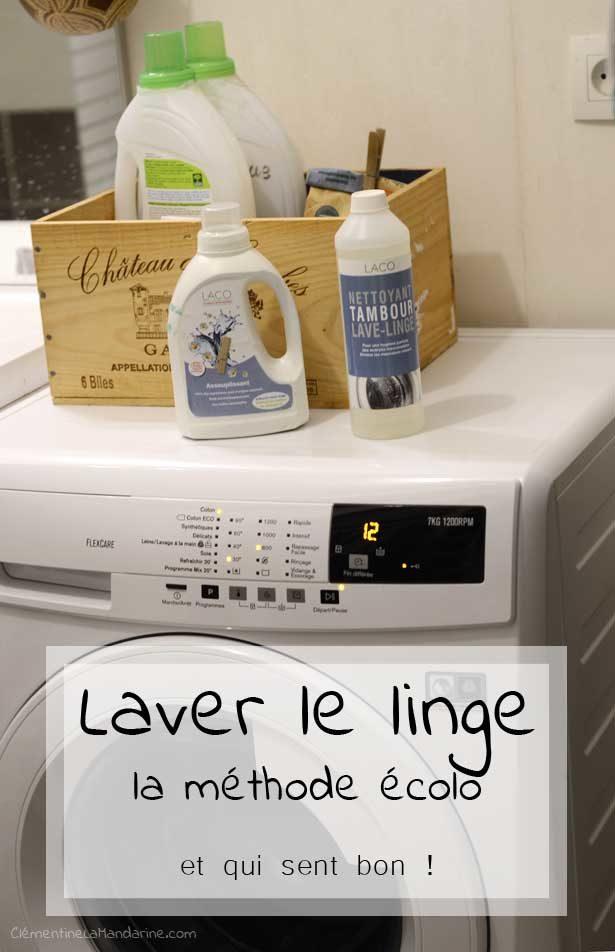 Laver Le Linge La Methode Ecolo Qui Sent Bon Clementine La Mandarine