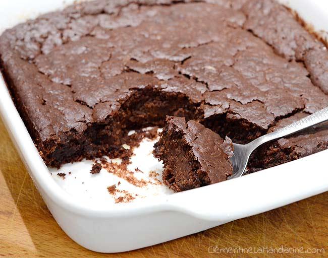 Le chocopote : gâteau au chocolat moelleux [Végane]