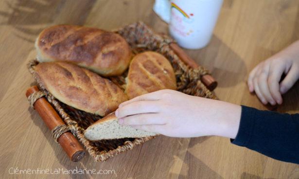 pains au lait végétal pour le petit déjeuner