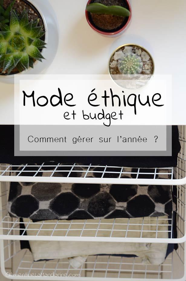 gérer son budget mode éthique et écologique