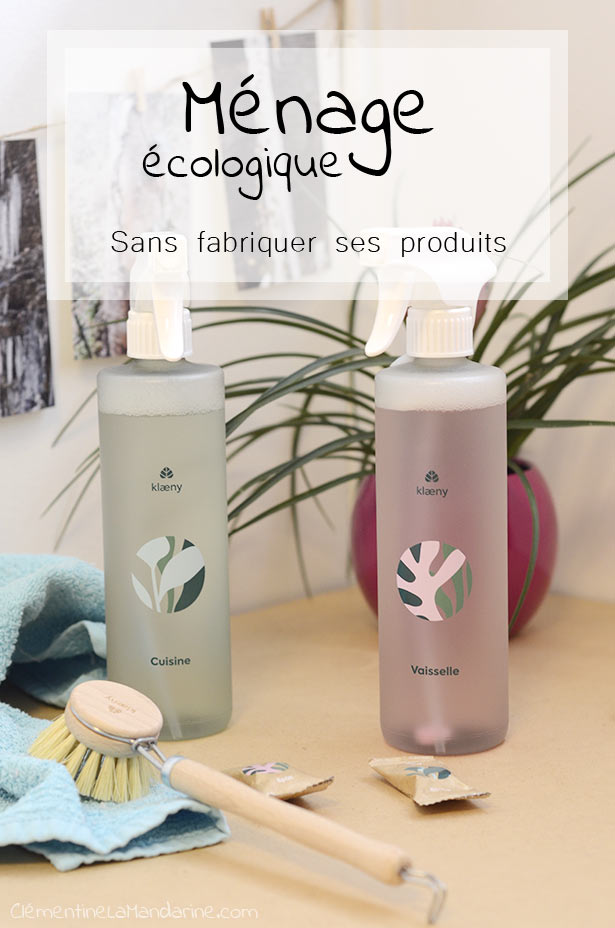 ménage écologique sans fabriquer ses propres produits : les alternatives