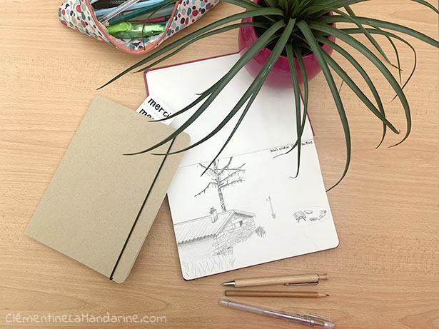 cahier et bullet journal en papier recyclé, fabriqué en France. My 365.